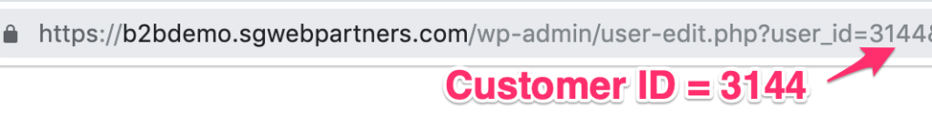woocommerce-api-customer-id