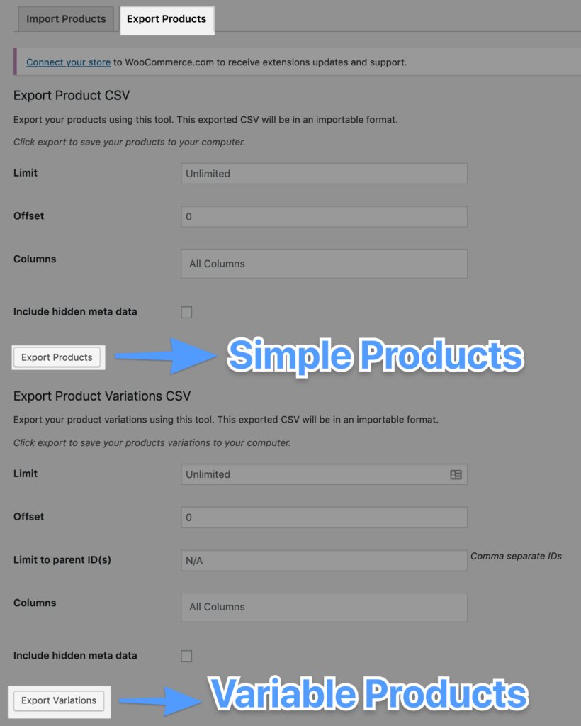 woocommerce-export-products-csv-import-export-products