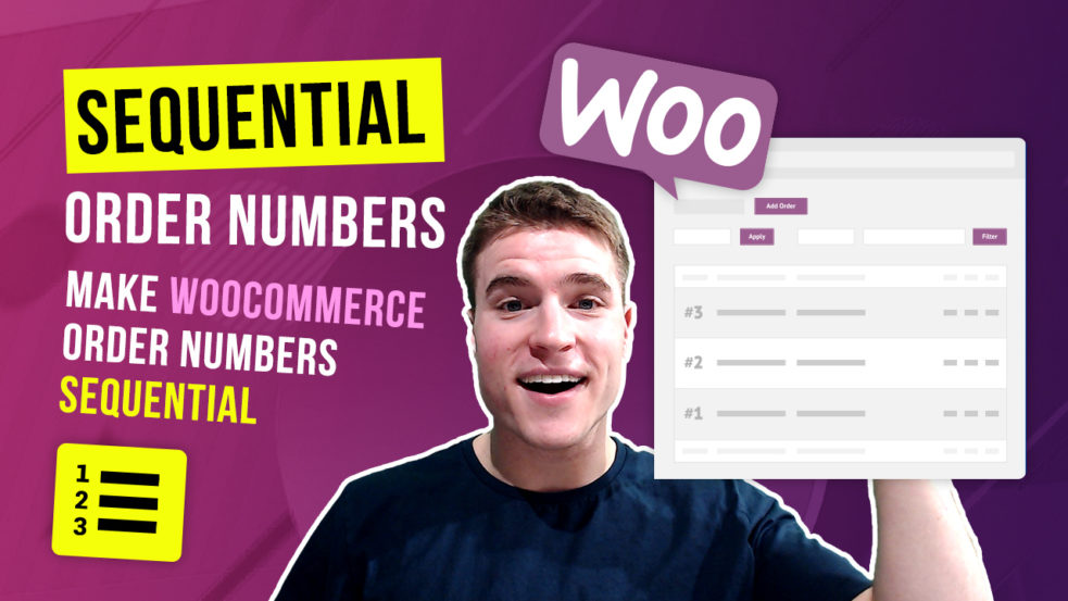How to setup Sequential Order Numbers in WooCommerce?